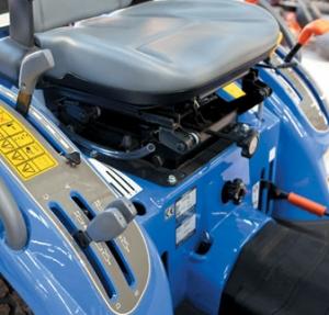 TM Series compact tractors Operators Platform